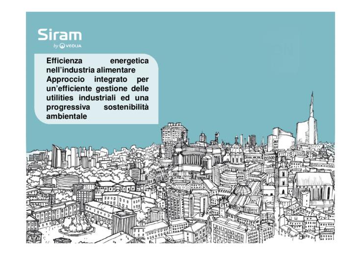 Approccio integrato per un efficiente gestione delle utilities industriali ed