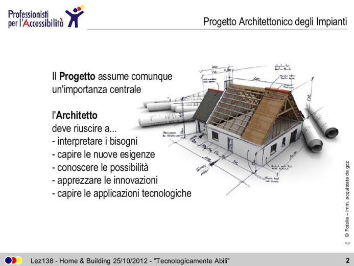 Architetto e Domotica: progetti, esperienze e realizzazioni negli ultimi 10