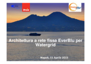 Architettura a rete fissa EverBlu per Watergrid