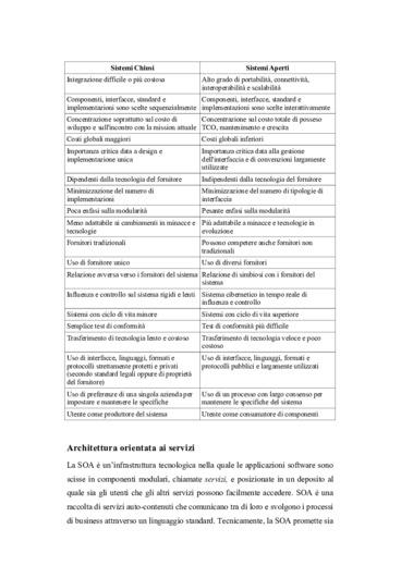Architettura orientata ai servizi e analisi dei costi: inteligent agent