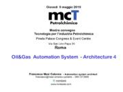Architetture di automazione 4.0 per l