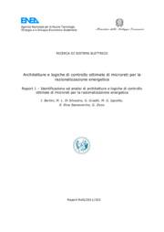 Architetture e logiche di controllo ottimale di microreti per la