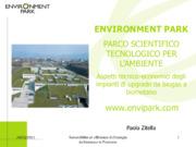 Aspetti tecnico-economici degli impianti di upgrade da biogas a biometano