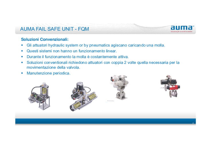 Attuatori Elettrici Fail Safe per valvole industriali e possibili alternative