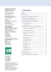 Attuazione della certificazione energetica degli edifici in Italia - 2014