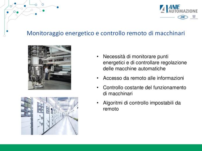 Automazione ed efficienza energetica con approccio ad Internet of Thing