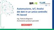 Automazione, IoT, Analisi dei dati in un unico controllo PC-based