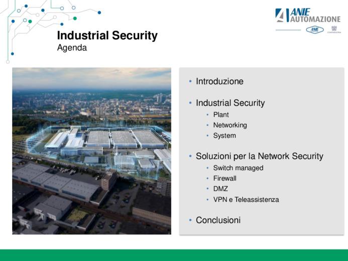 "Automazione ""Security Integrated"""