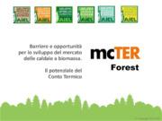 Barriere e opportunità per lo sviluppo del mercato delle caldaie