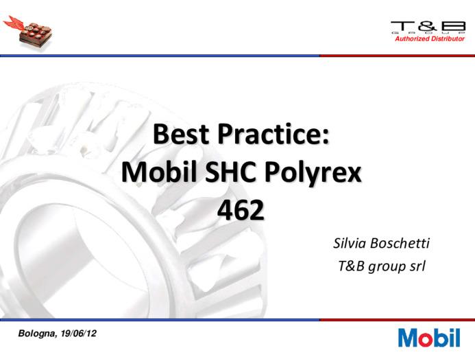 Best practice con lubrificanti mobil SHC Cibus e servizi per