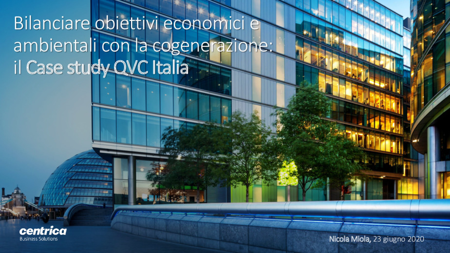 Bilanciare obiettivi economici e ambientali con la cogenerazione: il case