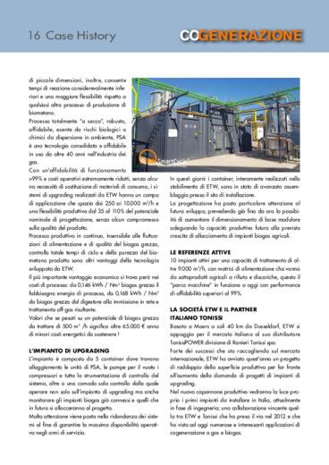 Biogas Partner Bitburg joint venture destinata a divenire un pilastro