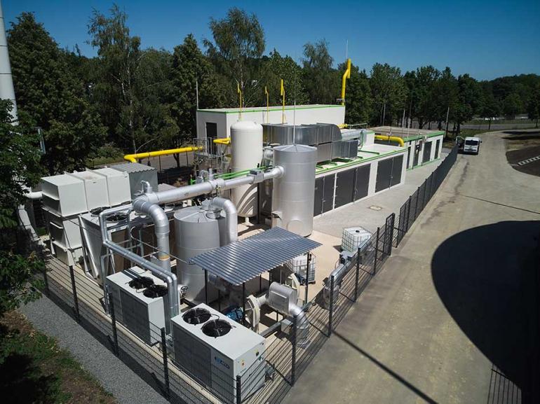 Biogas Partner Bitburg - il progetto integrato di un gasdotto