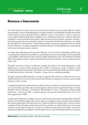 Biomasse e bioeconomia