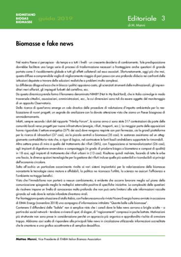 Biomasse e fake news