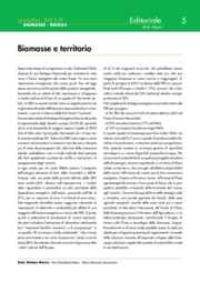 Biomasse e territorio