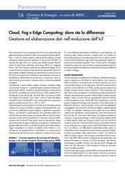 Cloud Computing, Edge computing, ICT, IoT,  internet of things, Termotecnica