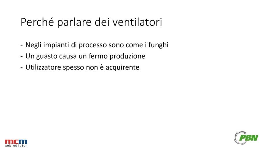 Come ridurre i costi di manutenzione dei ventilatori di processo