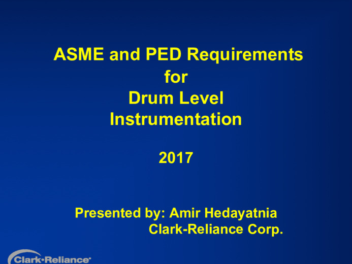 Confronto fra i requisiti delle normative PED e ASME per