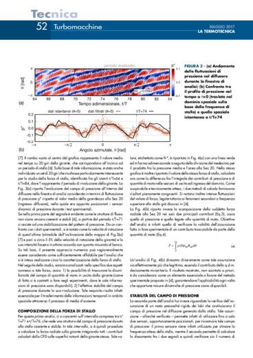 Determinazione della forza indotta dallo stallo rotante nei compressori centrifughi
