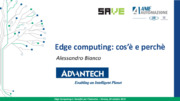 Cloud Computing, Controllo di Processo, Edge computing, IoT,  internet of things, PLC