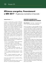 Efficienza energetica, Energy management, Normativa Tecnica, SEN
