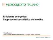 Audit energetico, Efficienza energetica, ESCO