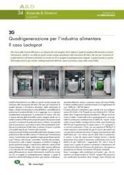 2G. Quadrigenerazione per l'industria alimentare. Il caso Lactoprot