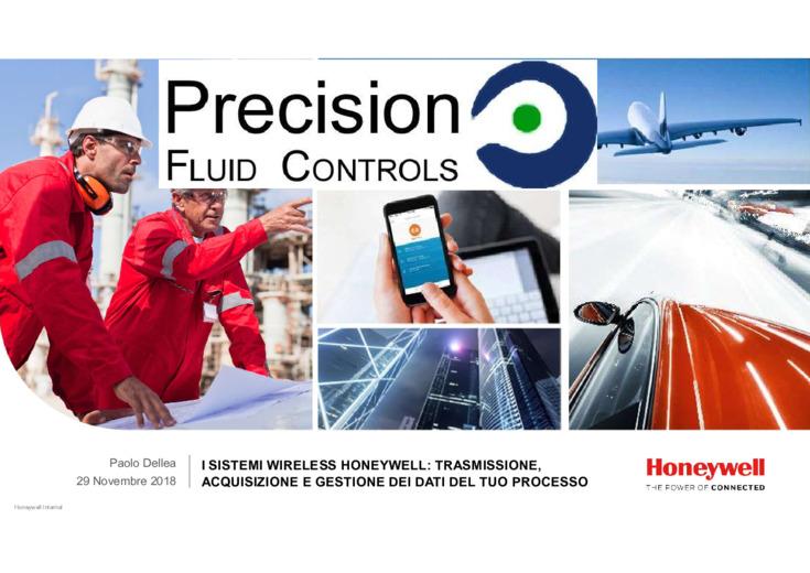 I sistemi Wirelles Honeywell: trasmissione, acquisizione e gestione dei dati
