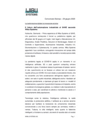 Automazione industriale, Cyber security, Industria 4.0, Software Industriale
