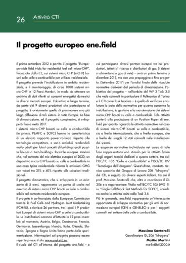Il progetto europeo ene.field