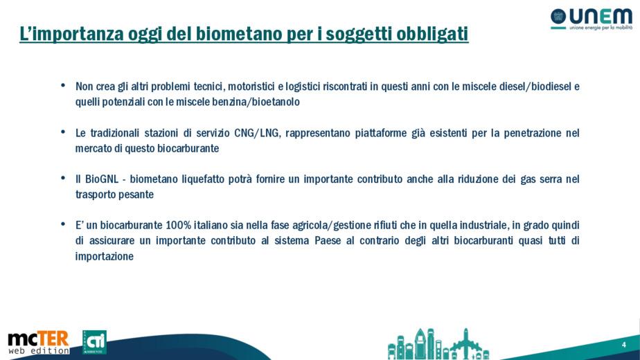 Il biometano a favore della decarbonizzazione dei trasporti