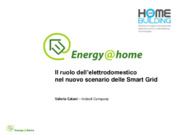Elettrodomestici, Energy management, Smart grid