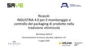Big Data, Industria 4.0, IoT,  internet of things, MES, Packaging, Strumenti di misura, Vini