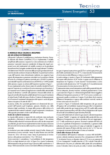 Influenza delle variazioni di carico sulla vita degli impianti termoelettrici