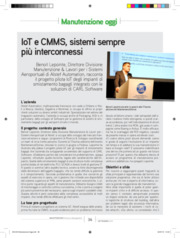 IoT,  internet of things, Software Manutenzione