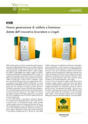 KWB. Nuova generazione di caldaie a biomassa dotate dell'innovativo bruciatore
