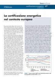 La certificazione eneretica nel contesto europeo