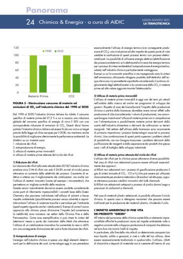 La position paper sulla chimica sostenibile del gruppo di lavoro