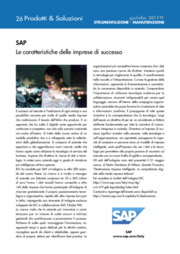 ERP, Meccanica, Software Industriale