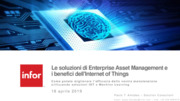 Asset Management, IoT,  internet of things, Machine learning, Manutenzione Predittiva