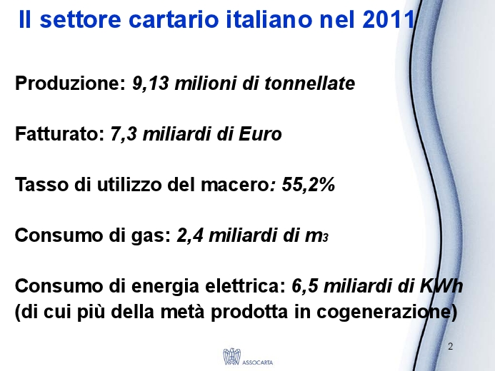 Efficienza energetica in cartiera