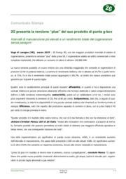Novità 2G Italia a mcTER Verona