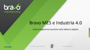 Industria 4.0, IoT,  internet of things, MES, PC industriali