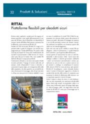 Rittal. Piattaforme flessibili per oleodotti sicuri: il caso di RE.MAC.UT.