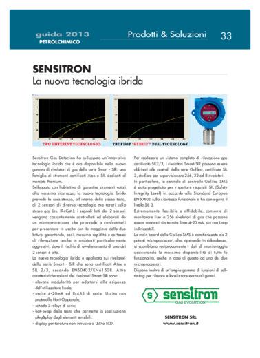 Sensitron. La nuova tecnologia ibrida