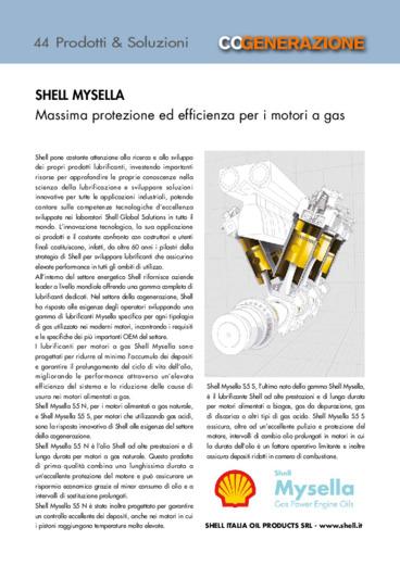 SHELL MYSELLA. Massima protezione ed efficienza per i motori a