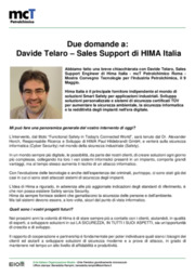 Certificazione, Cyber security, Informatica, Petrolchimico, Safety, Sicurezza informatica