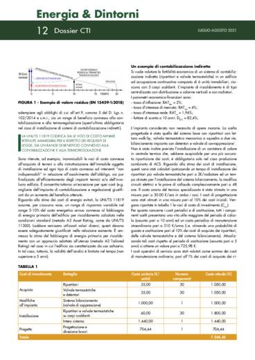 Sistemi di contabilizzazione e termoregolazione - Pubblicata la UNI/TS 11819