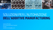 Additive manufacturing, PLC, Sistemi di controllo, Stampanti 3d